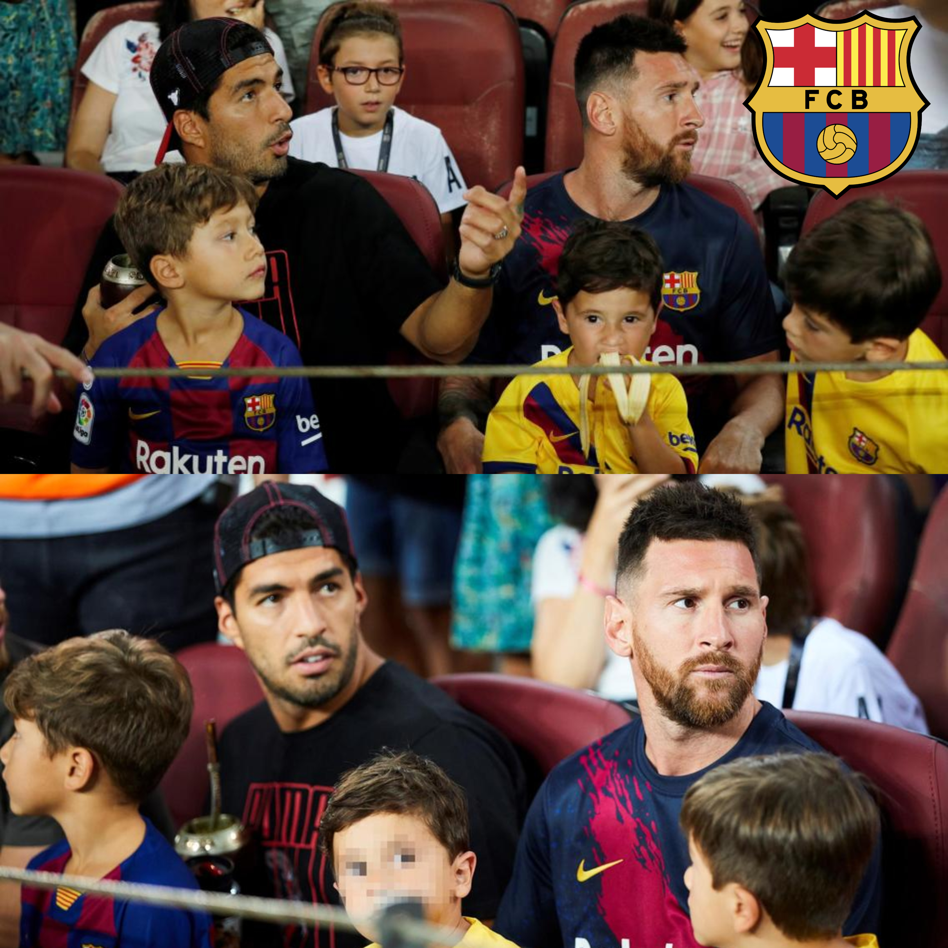 Lionel Messi's son Mateo accidentally cheers Real Betis' goal against Barcelona